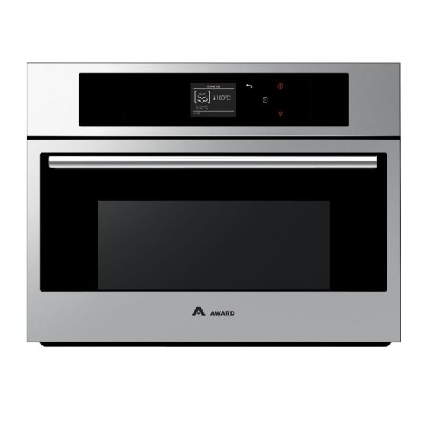 Award 60cm 38L Steam Oven with Fan Forced & Grill Options (CSO602S)
