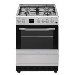 Eurotech 60cm Freestanding SS Gas Hob Gas Oven Cooker (ED-GGFC60 SS)