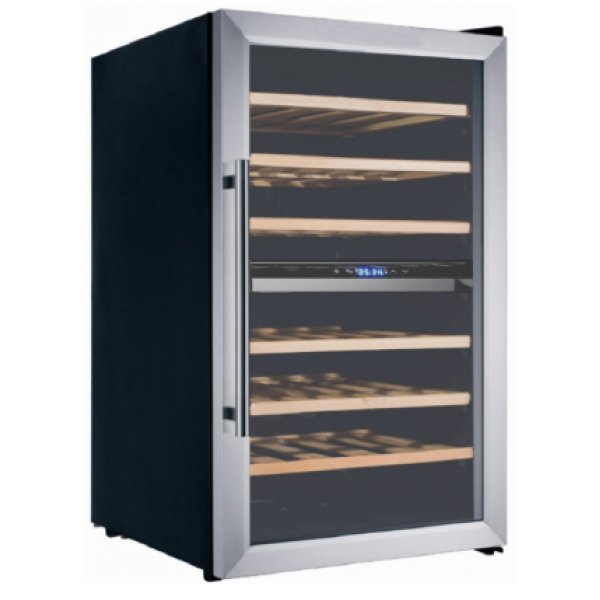 Eurotech 50cm 43 Bottle Wine Cooler Stainless Steel (ED-WC45BC SS)
