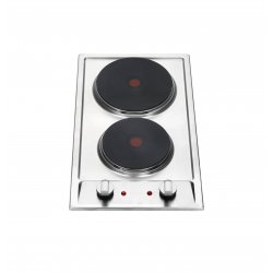 Eurotech 30cm Solid Element Cooktop in Stainless Steel (ED-H30 SS)