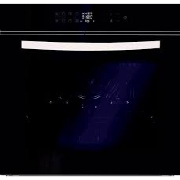Eurotech 60cm Built-In Black Pyrolytic Multifunction Oven with Touch Controls (ED-BIO11FT BK)