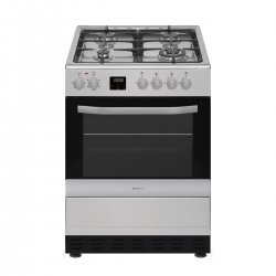 Eurotech 60cm Gas/Electric Stainless Steel Freestanding Cooker (ED-GEFC60 SS)