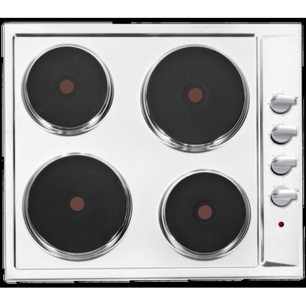 Eurotech 60cm Solid Element Cooktop in Stainless Steel (ED-H60 SS)