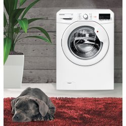 Hoover 7kg White One Touch Front Loading Washing Machine (HL1071D1/1-AUS)