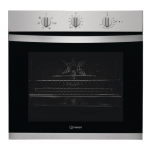 Indesit 71L Built-In Electric Multifunction Hydrolytic Oven (IFW 3534 H IX AUS)