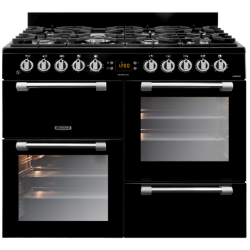 Leisure -100cm Dual Fuel Gas Hob / Electric Ovens Freestanding Cookmaster (CK100F232K)