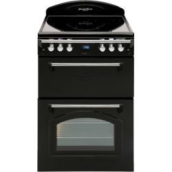 Leisure 60cm Ceramic/Electric Double Oven Freestanding Cooker (GRB6CVK)