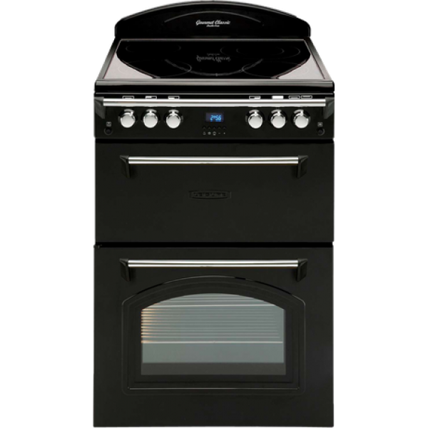 Leisure 60cm Ceramic/Electric Double Oven Freestanding Cooker (GRB6CVK)