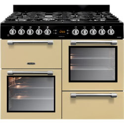 Leisure -100cm Dual Fuel Gas Hob/Electric Ovens Freestanding Cookmaster (CK100F232C )