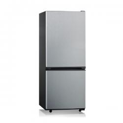 Midea 320L Top Fridge Bottom Freezer in Stainless Steel (JHBMF320SS)
