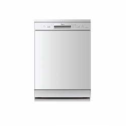 Midea 60cm Freestanding Stainless Steel 12P Dishwasher  (JHDW12FS)