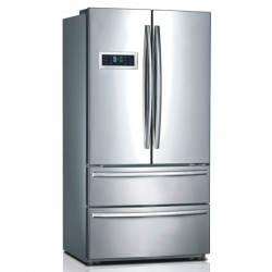 Midea 635L French Door Fridge Freezer with Two Large Drawers (JHFDSBS635SS)