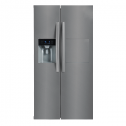 Midea 567L Side by Side Fridge Freezer in Stainless Steel (JHSBS567SS)