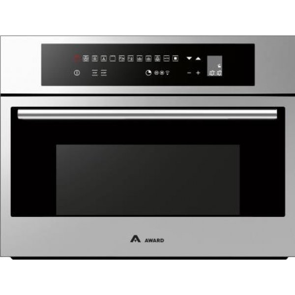 Award 60cm Built-In 45L 900W Microwave Combi Grill & Fan Forced Oven (OCM600S)