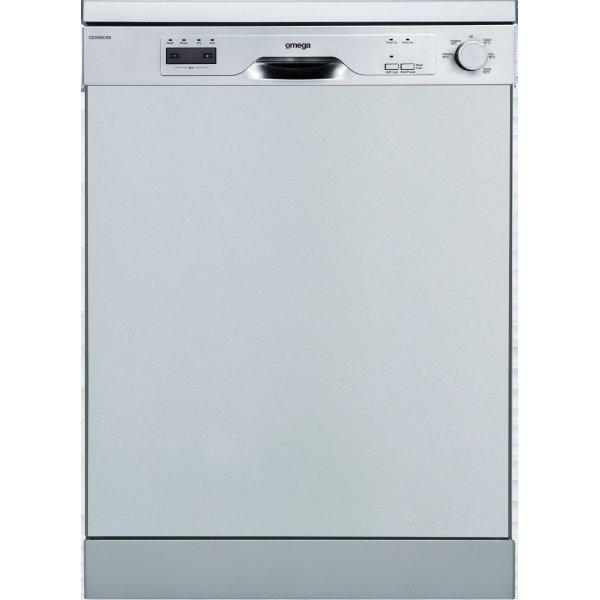 Omega 60cm SS Freestanding Dishwasher (ODW800XB)