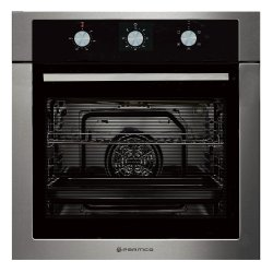 Parmco 60cm 76L Stainless Steel 5 Function Built-In Oven (OX7-3-6S-5-1)