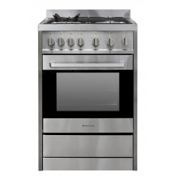 Parmco 60cm SS Freestanding Gas Hob & Gas Oven Cooker (FS600-GAS GAS)