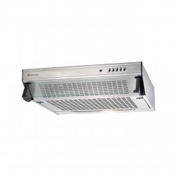 Parmco 60cm Caprice Glass Front Top or Rear Mounted SS Rangehood - 350m3-hr (T5C-6S-350)