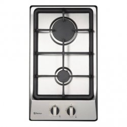 Parmco 30cm 2 Burner Gas Hob in Stainless Steel (HO-1-2S-2G)