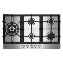 Parmco 90cm Recessed 5 Burner Gas Hob in Stainless Steel (HO-6-9S-4GW)