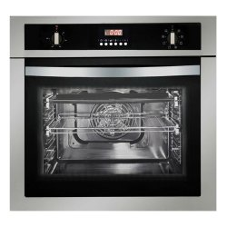 Parmco 60cm 58L Built In Fan Forced Electric Oven with Digital Timer (OX-1-6S-8)