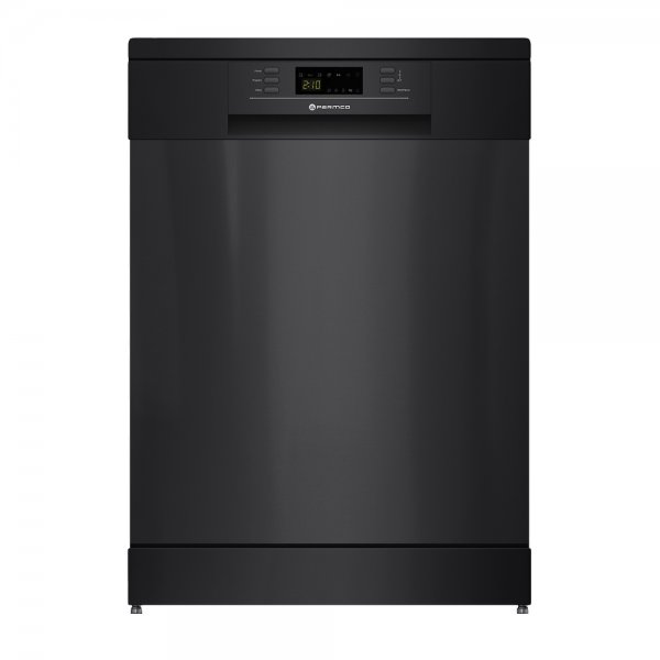 Parmco 60cm Black 15P Dishwasher with 1/2 Load & Drying Options  (PD6-PBL)