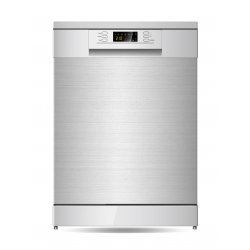 Parmco 60cm Stainless Steel 15P Dishwasher with 1/2 Load & Drying Options  (PD6-PSL-2)
