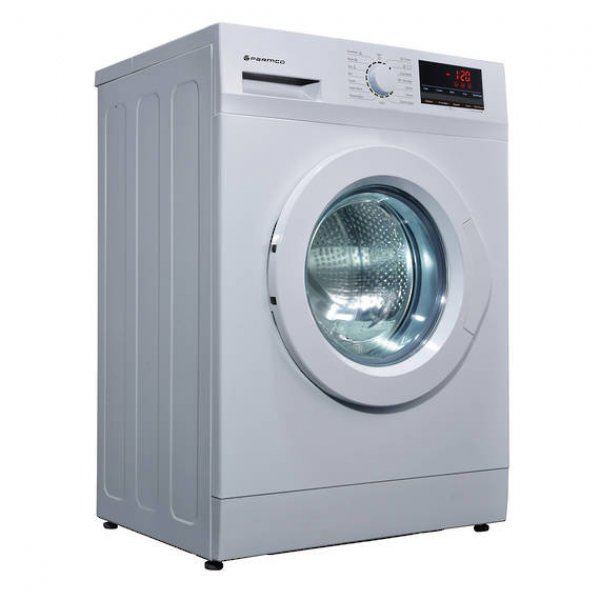 Parmco 8kg White Front Loader Washing Machine (PW-F8-W)