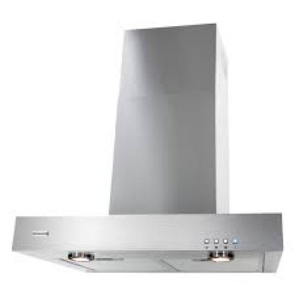 Parmco 60cm Stainless Steel Box Style Wall Canopy Rangehood (RBOX-6S-1000L)