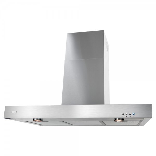 Parmco 90cm Stainless Steel Box Style Wall Canopy Rangehood (RBOX-9S-1000L)