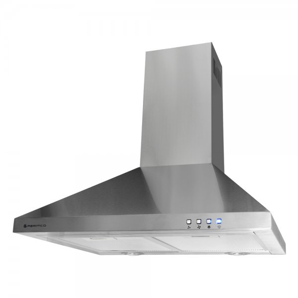 Parmco 60cm Stainless Steel Lifestyle Canopy Rangehood 1000m-3hr (RCAN-6S-1000L)