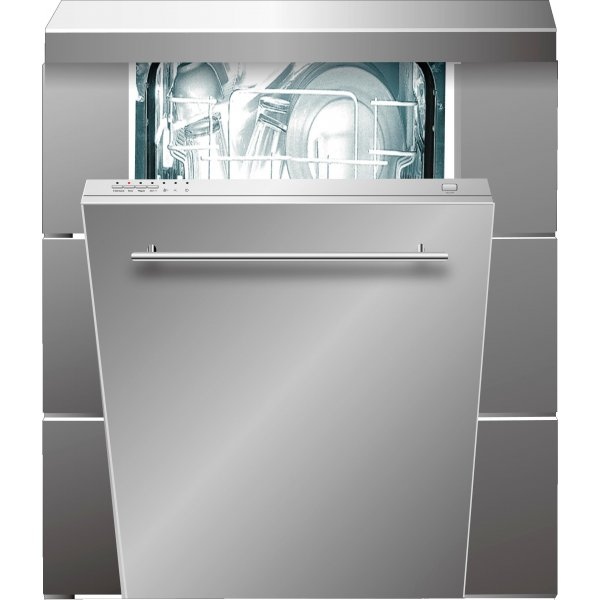 Trieste 45cm Slimline Fully Integrated Dishwasher (TRD-ID8P)