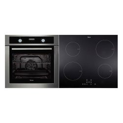 Parmco Verso 1-2 Pack 60cm Stainless Steel Oven & Induction Cooktop (VERSO 1-2)