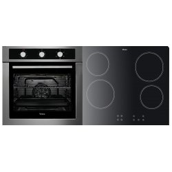 Parmco 60cm 76L SS Built-In Oven & 60cm Ceramic Cooktop (VERSO 3-2)