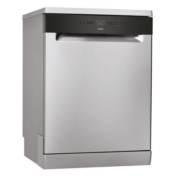 Whirlpool 60cm Stainless Steel Freestanding Dishwasher 14P (WFE2B19XAUS)