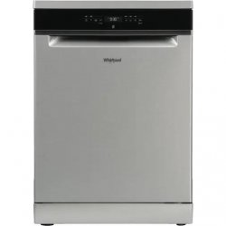 Whirlpool 60cm Stainless Steel Freestanding Dishwasher 15P (WFO3S23XAUS)